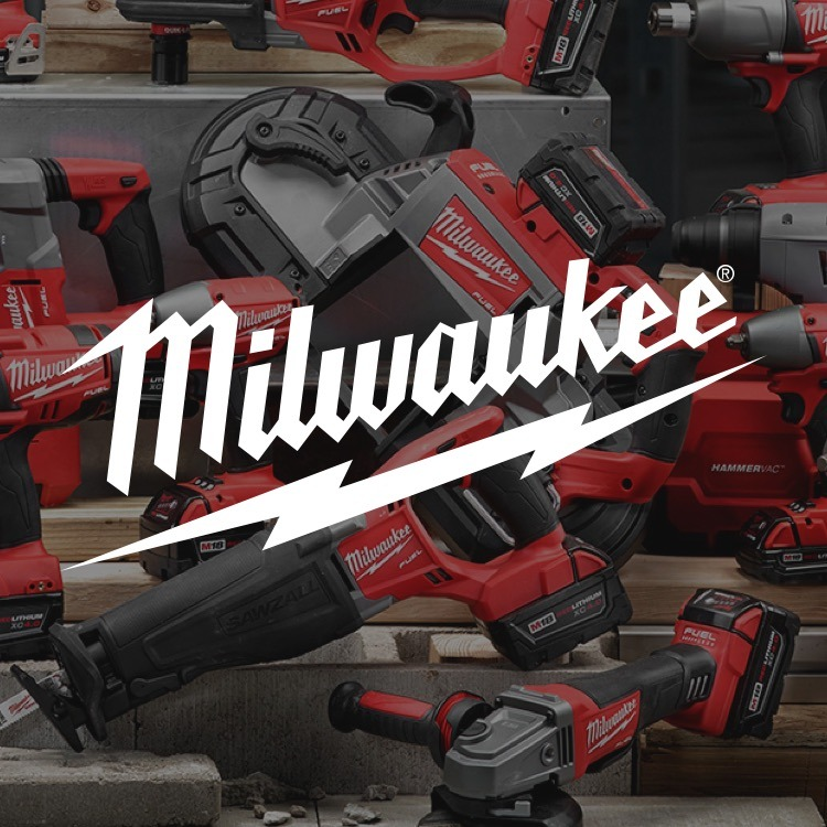 Milwaukee Power Tools with Logo