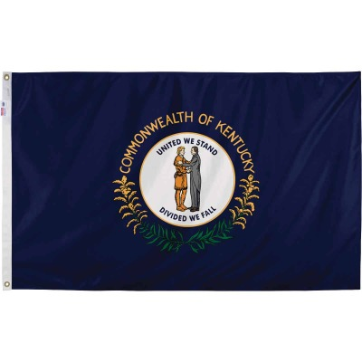 Valley Forge 3 Ft. x 5 Ft. Nylon Kentucky State Flag