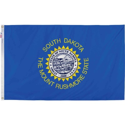 Valley Forge 3 Ft. x 5 Ft. Nylon South Dakota State Flag