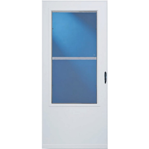Larson Lifestyle MULTI-VENT 32 In. W x 80 In. H x 1 In. Thick White Mid View DuraTech Storm Door