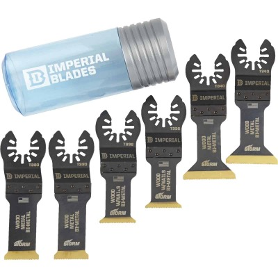 Imperial Blades ONE FIT STORM Oscillating Blade Assortment (6-Piece)