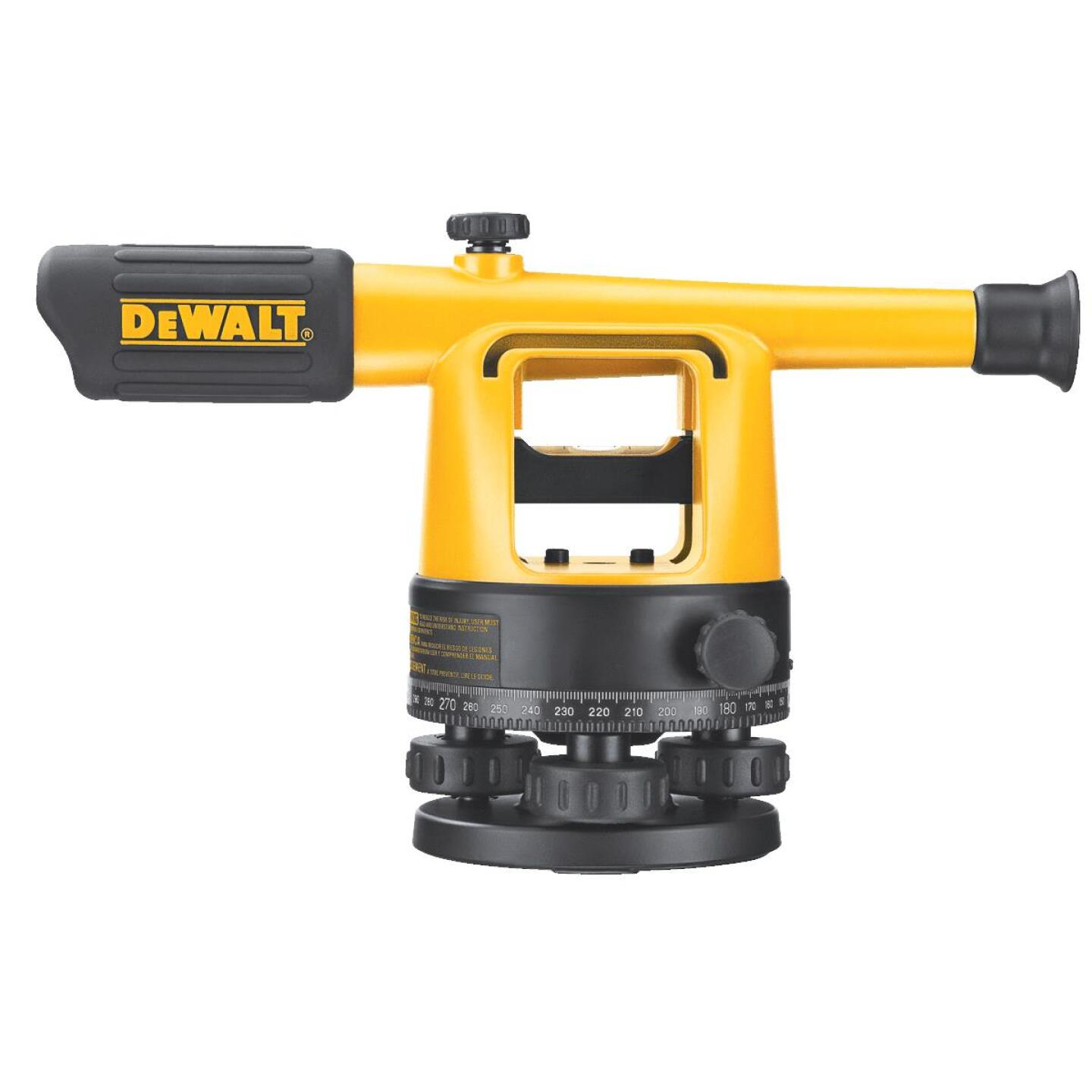 Dewalt 20x Magnifying Manual Sight Level Image 1