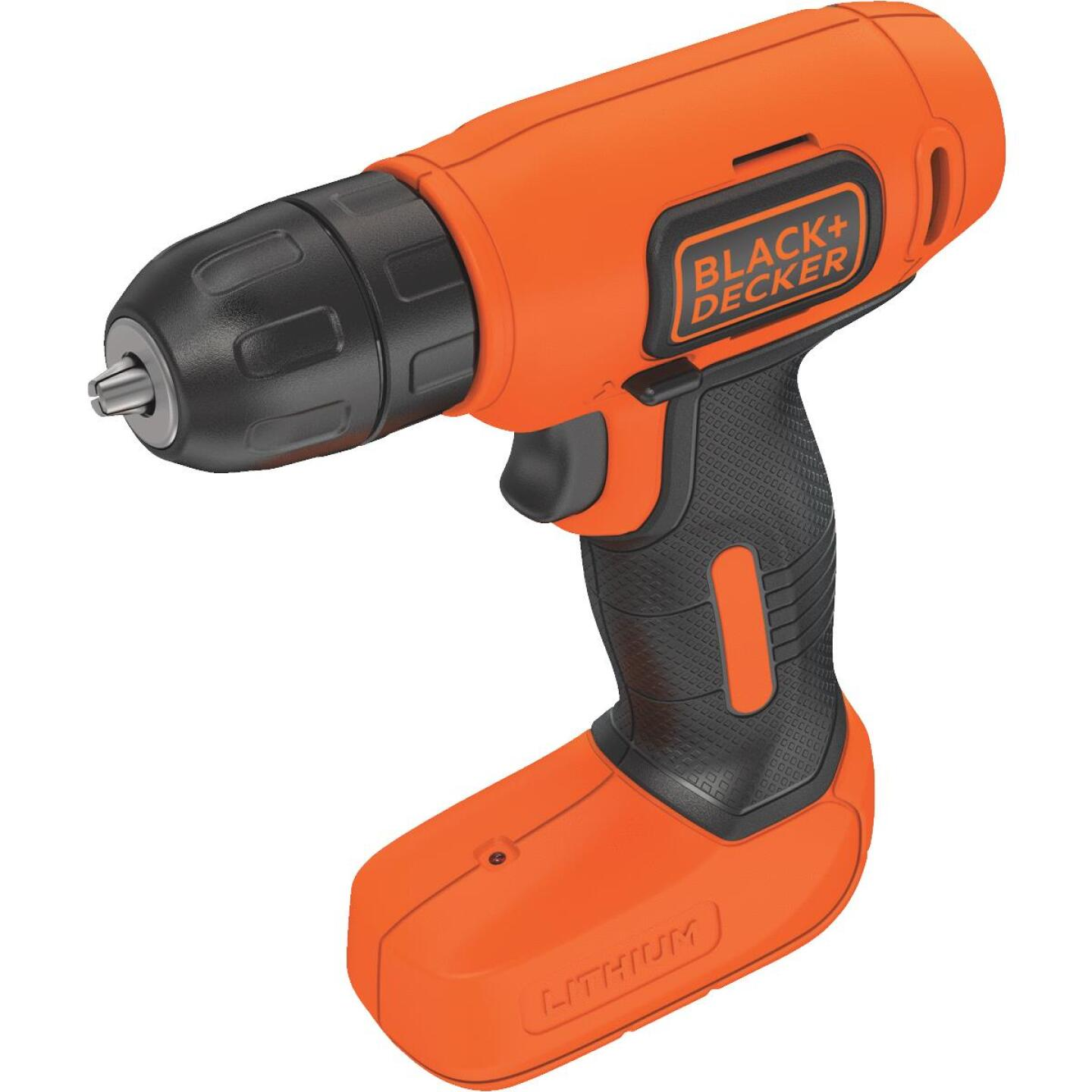 Black & Decker 8 Volt Lithium-Ion 3/8 In. Cordless Drill Kit Image 3