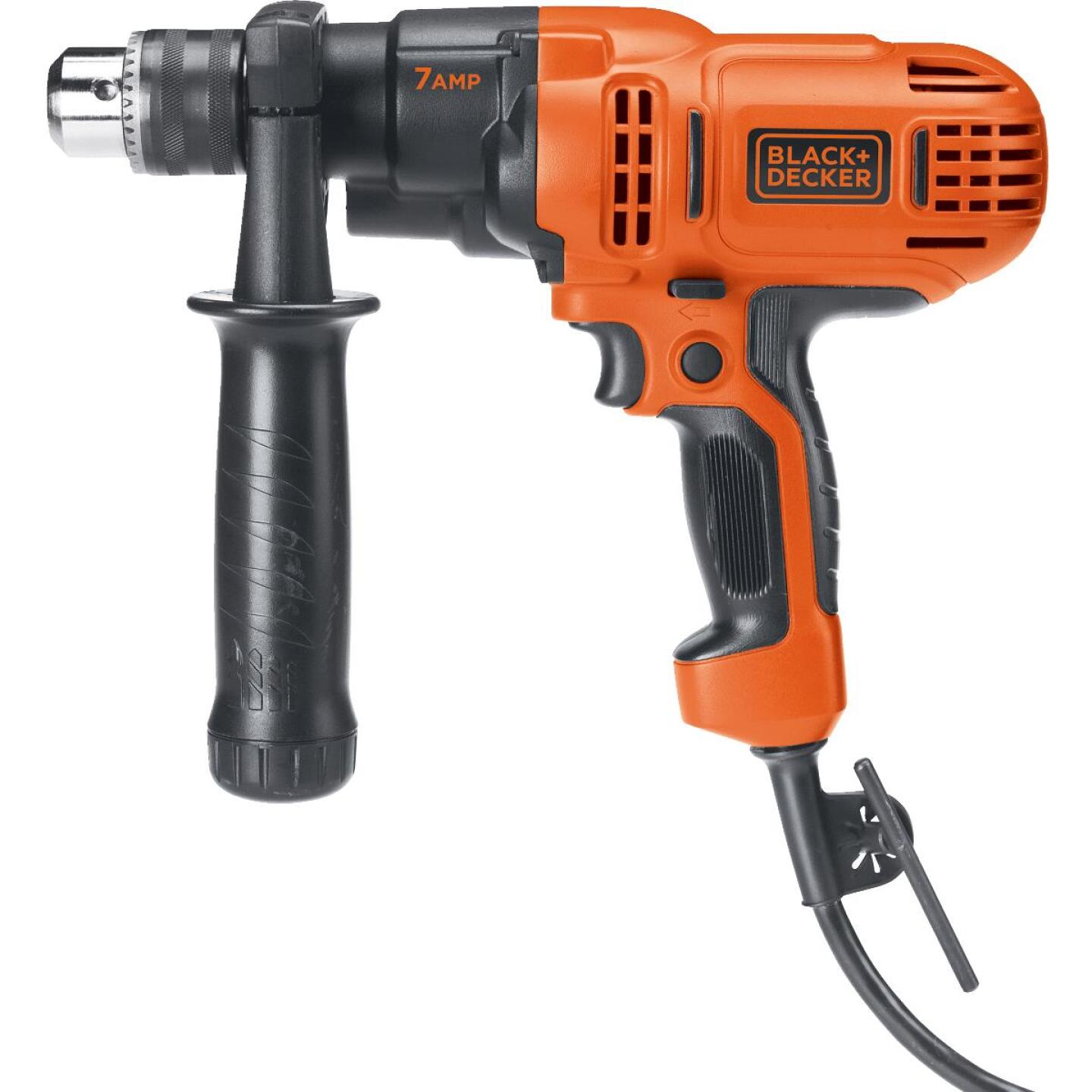 Black & Decker 1/2 In. 7-Amp Keyed Electric Drill/Driver Image 2