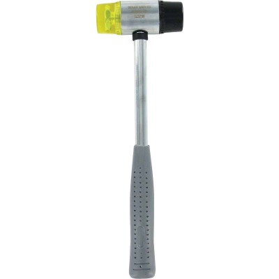 Great Neck 12 Oz. Plastic/Rubber Mallet with Tubular Steel Handle