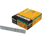 Bostitch 18-Gauge Galvanized Narrow Crown Finish Staple, 7/32 In. x 3/4 In. (5000 Ct.) Image 1