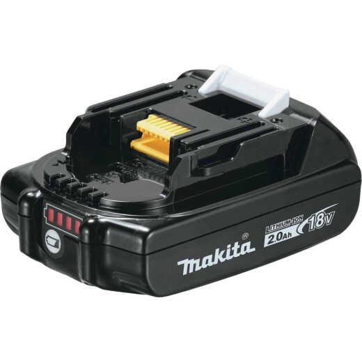 Makita 18 Volt LXT Lithium-Ion 2.0 Ah Compact Tool Battery