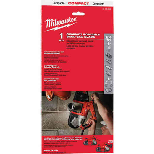 Milwaukee 35-3/8 In. x 1/2 In. 24 TPI Compact Band Saw Blade