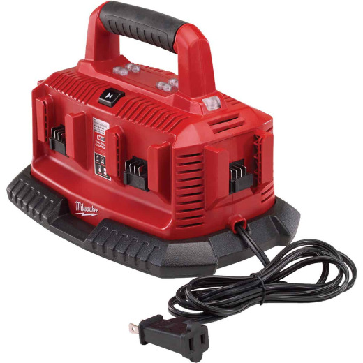 Milwaukee M18 18V Six-Pack Sequential Battery Charger