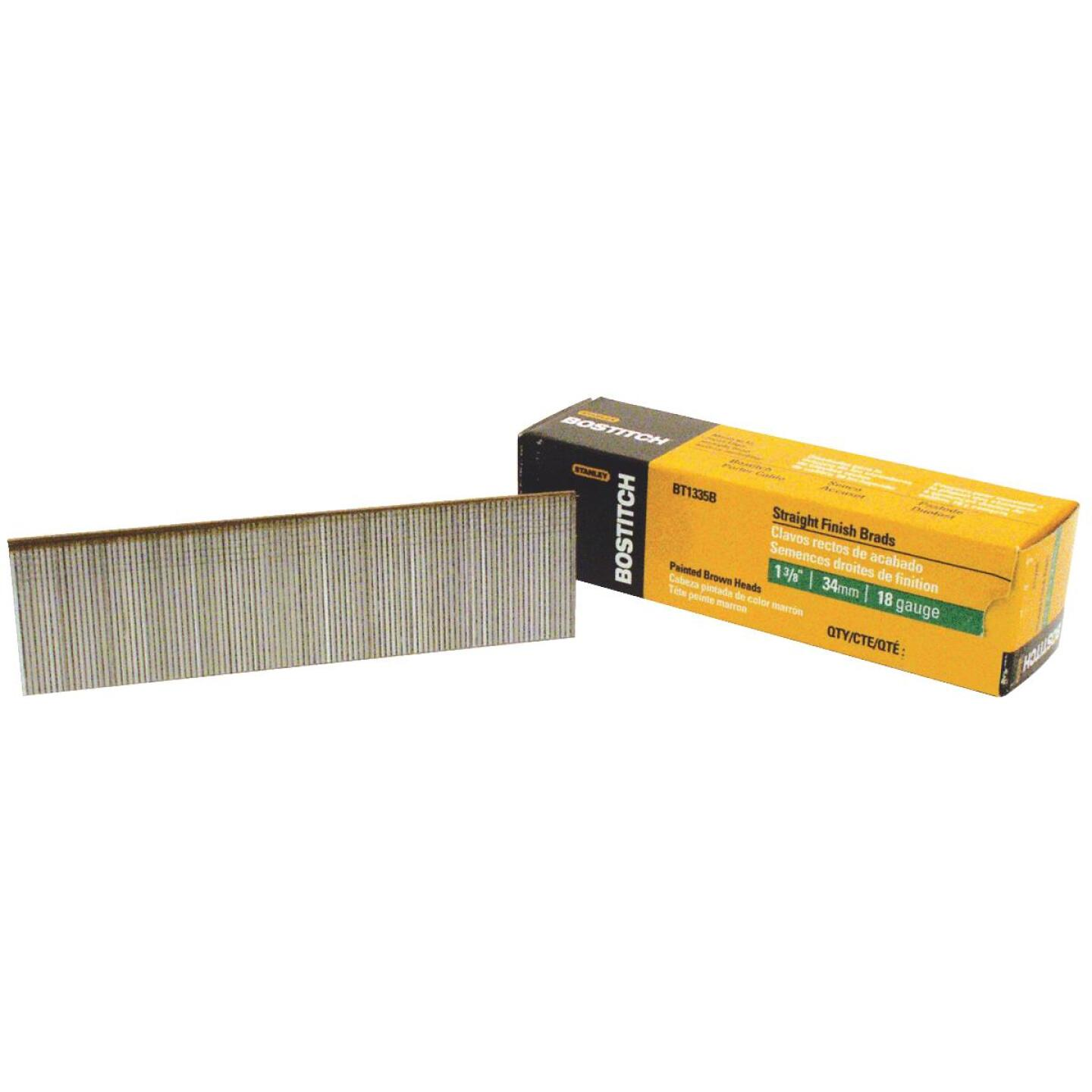 Bostitch 18-Gauge Coated Brad Nail, 1-3/8 In. (3000 Ct.) Image 2