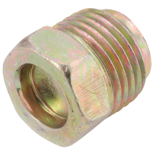 Anderson Metals 3/8 In. Brass Inverted Flare Plug