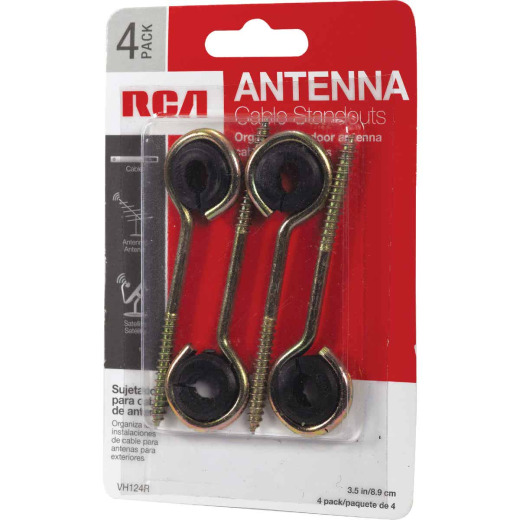 RCA 3-1/2 In. Antenna Wireholder (4-Pack)