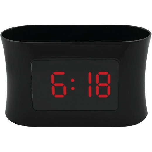 RCA USB Big Display Alarm Clock Radio