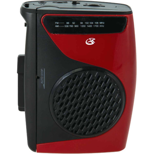 GPX AM/FM Portable Radio & Cassette Player