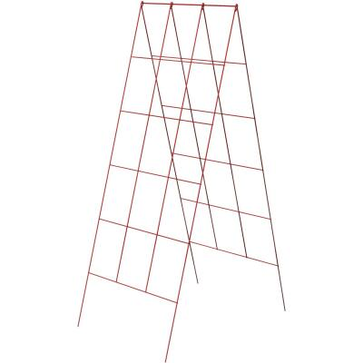 Panacea 48 In. H. Red Heavy-Duty Wire A-Frame Plant Support