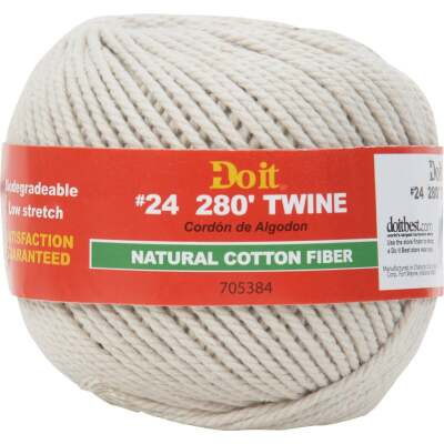Do it #24 x 280 Ft. Natural Cotton Twine