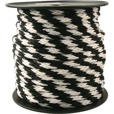 Do it 5/8 In. x 150 Ft. Black & White Derby Polypropylene Rope