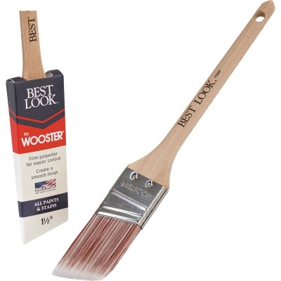 Best Look By Wooster 1-1/2 In. Thin Angle Sash Paint Brush
