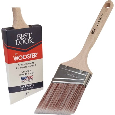 Best Look By Wooster 3 In. Angle Sash Paint Brush