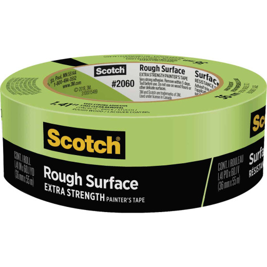 3M Scotch 1.41 In. x 60.1 Yd. Rough Surface Painter's Tape