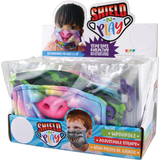 Novelty Shield-N-Play Washable Polyester Kids Mask